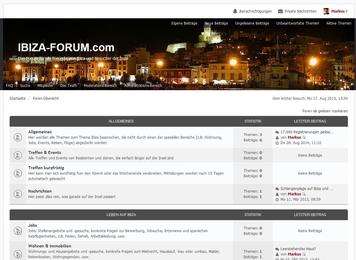 Forum kennenlernen