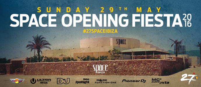 Die letzte Saison-Eröffnung erwartet die Freunde vom Space. Das Space Ibiza schließt 2016 - und noch weiß keiner, wie es weitergeht und ob es überhaupt weitergehen wird. (Grafik: Space Ibiza)