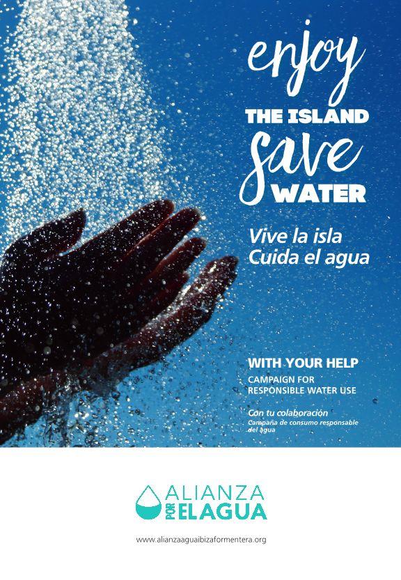 Das Kampagnenmotiv der Alianza por el Agua