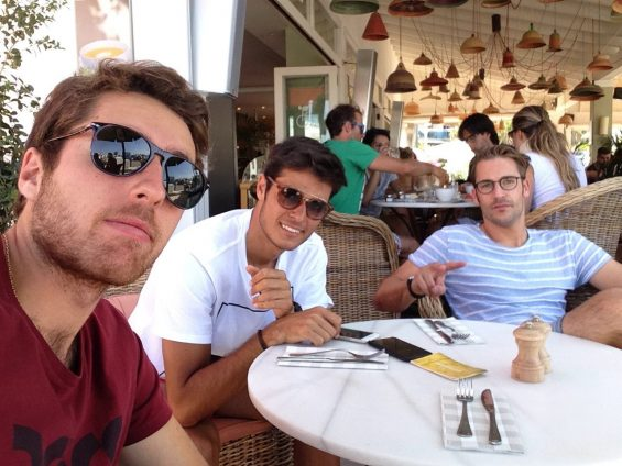Drei DTM-Fahrer - vier Tage auf Ibiza - ein Turbourlaub (Foto: Daimler)