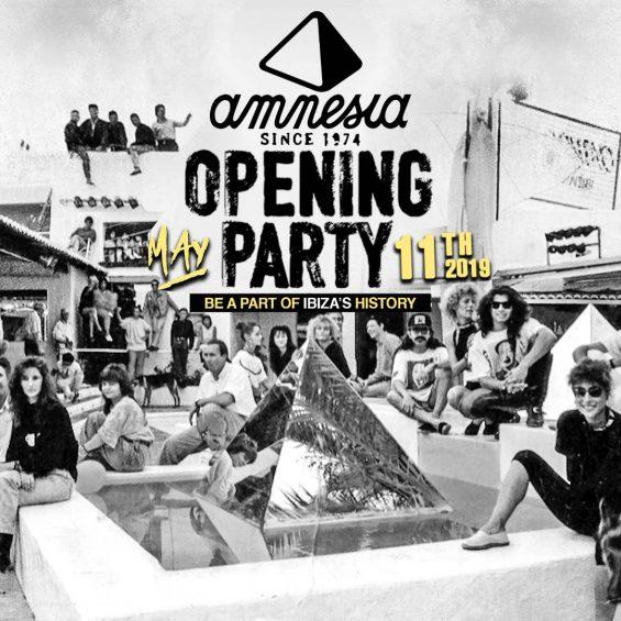 Mit diesem Bild macht das Amnesia Lust auf die Opening Party 2019 (Foto: Amnesia)